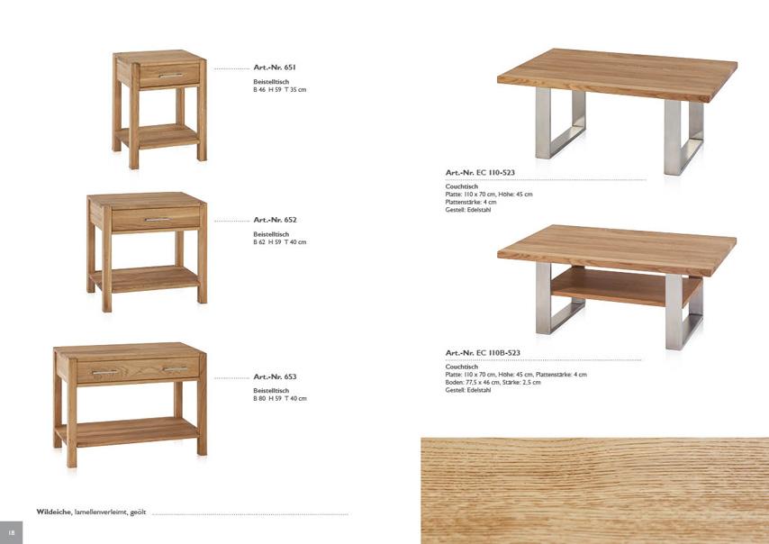tische henke m bel. Black Bedroom Furniture Sets. Home Design Ideas