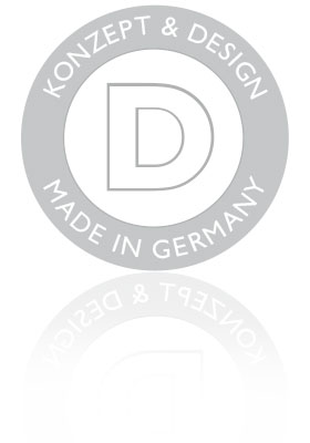 Konzept und Design - Made in Germany